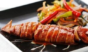 Mực nướng theo phong cách Hàn Quốc
